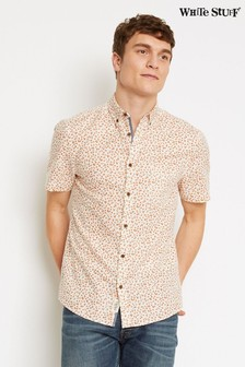 White Stuff White Seville Orange Print Shirt