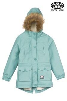 Animal Packington Jacke, blau meliert