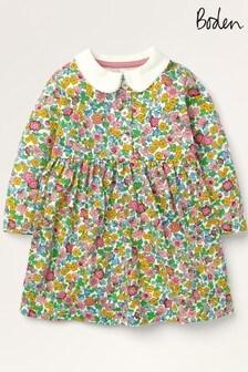 فستان جيرسيه ألوان متعددة بياقة منBoden