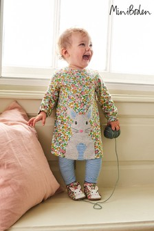 Boden Multi Big Appliqué Dress Set