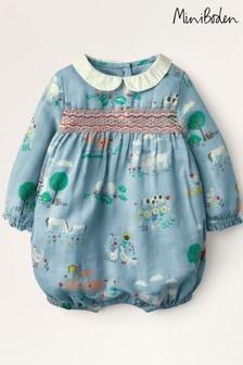 ثوب أطفال أزرق مجمع منBoden