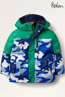 Boden - Giacca blu impermeabile per tutte le stagioni