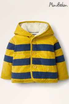 Boden Yellow Cord Jacket