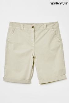 White Stuff Natural Helter Skelter Shorts