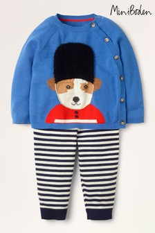 Boden Blue Sprout Knitted Playset