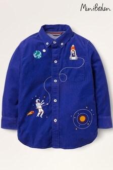 قميص كوردروي أزرق مطرز فضاء منBoden