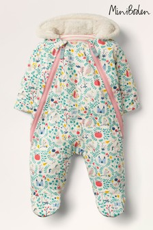 Boden Ivory Cosy Printed All-In-One