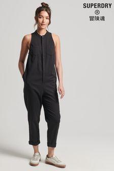 Superdry Tencel™ Sleeveless Jumpsuit (M03413)   $99