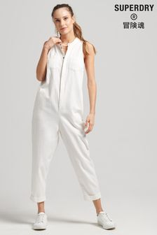 Superdry Tencel™ Sleeveless Jumpsuit (M03420)   $99
