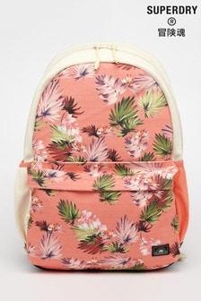 Superdry Pink Cali Print Montana Bag
