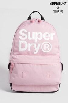 Superdry Pink Edge Montana Rucksack