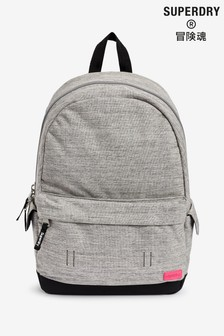 Superdry Grey Rainbow Appliqué Montana Rucksack
