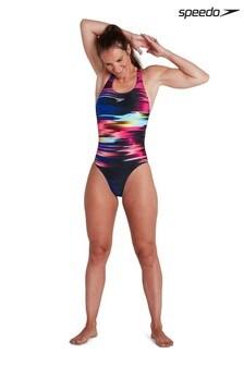 Speedo® Digital Powerback Swimsuit