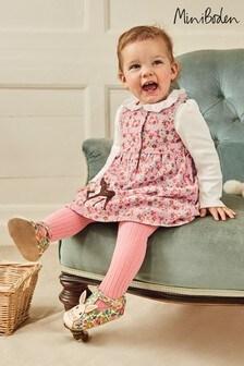 فستان طراز مريلة كوردروي وردي بأبليك منBoden