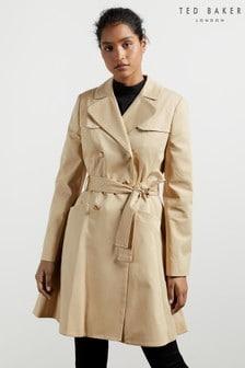 Ted Baker Molson Skirted Mac Coat