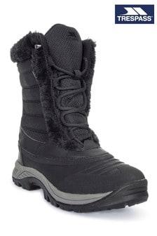 Черные удобные зимние сапоги Trespass Stalagmite II