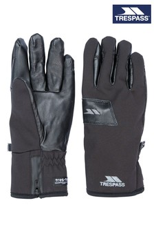 Trespass Black Alpini - Unisex Adult Gloves