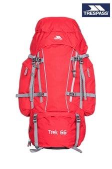 Trespass 紅色 Trek 66-66公升背包