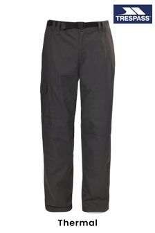 Trespass Charcoal Clifton Thermal Male Trousers