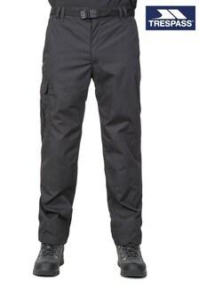 Trespass Black Clifton All Season Male Trousers