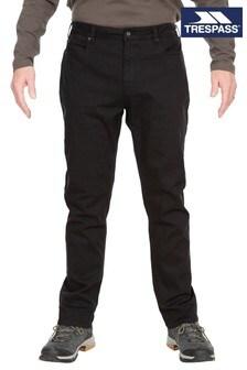 Trespass Black Yockenwaite Male Adventure Trousers