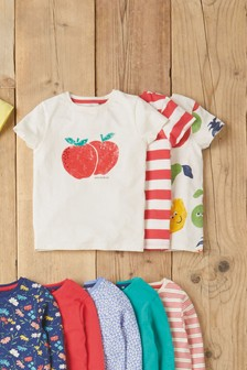 3 Pack Fruit Character Tops (3-16yrs)