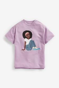 Dievčenské tričko s potlačou (3 – 16 rok.)