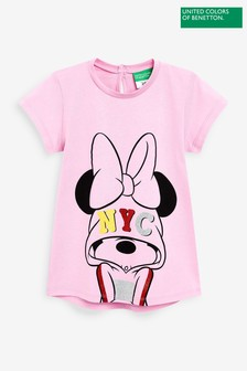 Benetton Pink Minnie Mouse™ T-Shirt