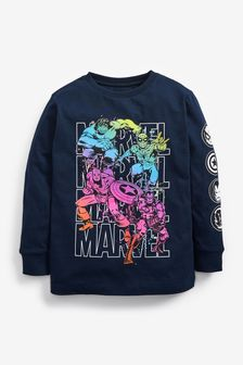 Rainbow Marvel T-Shirt (3-16yrs)