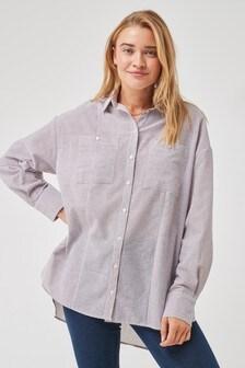 חולצת פסים משולבת