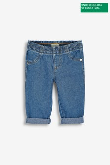 Benetton Bunny Pocket Detail Slim Jeans