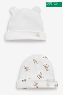Benetton Character Ears Hats 2 Pack