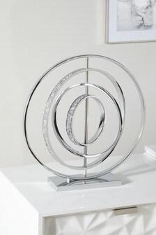 Silver Extra Large Harper Sculpture