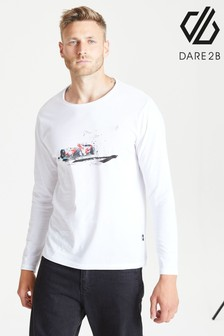 Dare 2b Grey Overdrive Long Sleeve T-Shirt