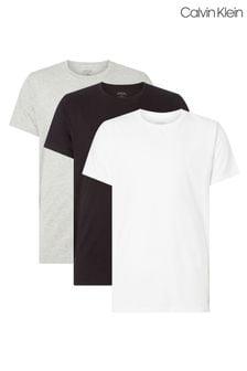 Calvin Klein Grey T-Shirts 3 Pack