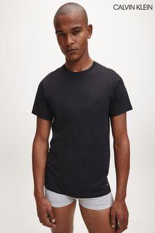 Набор из 3 черных футболок Calvin Klein