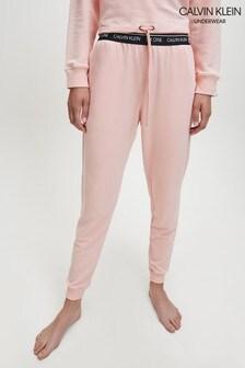 Calvin Klein CK One Freizeit-Jogginghosen, rosa