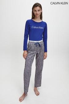 Calvin Klein Blue PJs In A Bag