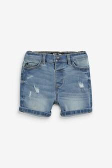 Потертые джинсовые шорты (3 мес.-7 лет)