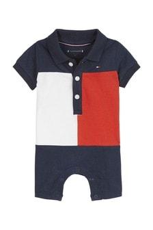 Tommy Hilfiger Baby Colourblock Polo Bodysuit