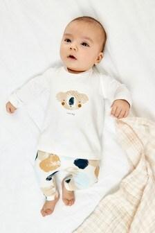 סט טייץ וחולצה מנוקדת עם קואלה (0 חודשים עד גיל 2)