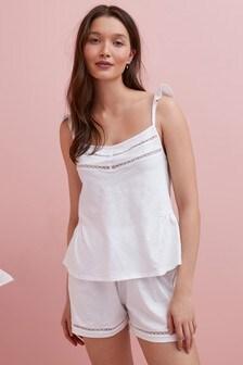 Organic Cotton Cami Short Set