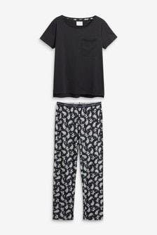 Pyjamas aus Baumwollgemisch