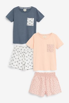 Cotton Blend Short Set 2 Pack