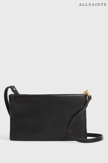 AllSaints Mila Leather Cross-Body Bag
