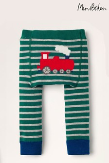 Boden Green Knitted Leggings