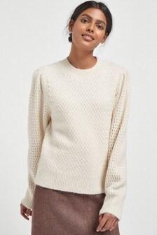 Mehak teksturiran pulover
