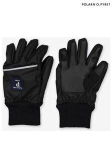 Polarn O. Pyret黑色防水外層手套