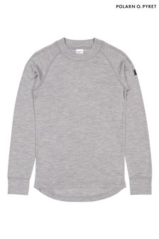 Polarn O. Pyret Grey Soft Rws Merino Top