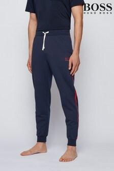 מכנסי טרנינג של BOSS דגם Authentic בכחול